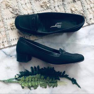 Salvatore Ferragamo Black Black Heels